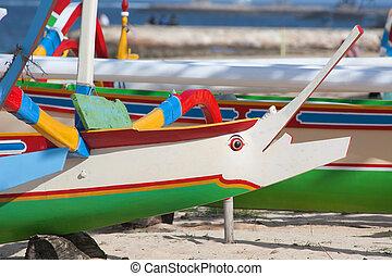 balinese, barca