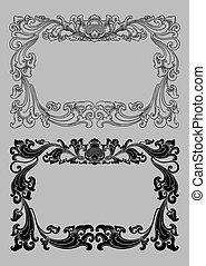 balinese, cornice, ornamento, 2a