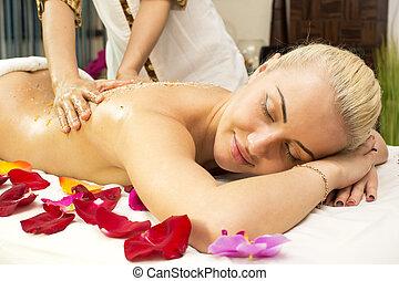 balinese, massagem