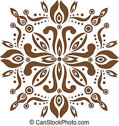 Balinese Pattern - Balinese stone craft