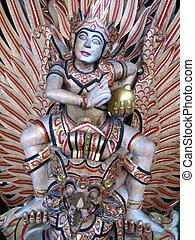 Balinese Statue - Balinese Hindu statue