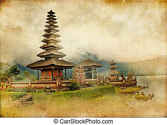 balinese, tempio, in, bali