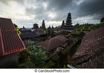 Balinese temple. Indonesia