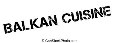 Balkan Cuisine rubber stamp - Balkan Cuisine rubber stamp....