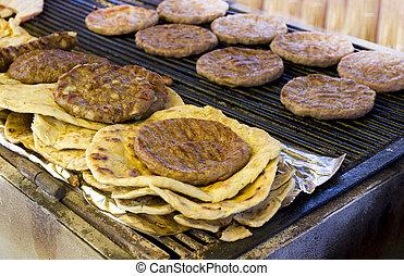 balkanisch, hamburger