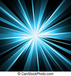 balken, laser, hintergrund