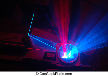 balken, laser