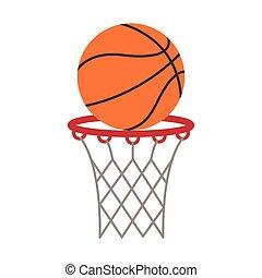 ball basket basketball score shooting