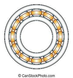 Ball bearing illustration