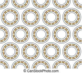 Ball bearing pattern