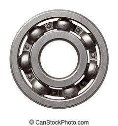 Ball bearing - Used metal ball bearing, isolated.
