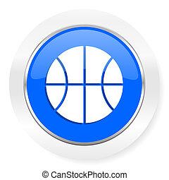 ball blue glossy web icon
