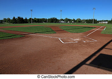 Ball Field Shadows