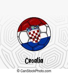 Ball Flag of Croatia