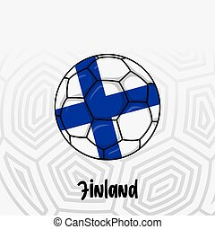 Ball Flag of Finland