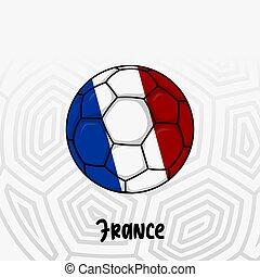 Ball Flag of France
