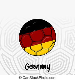 Ball Flag of Germany