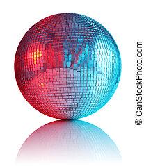 ball for disco club