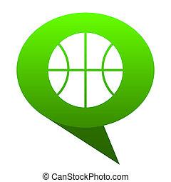 ball green bubble icon