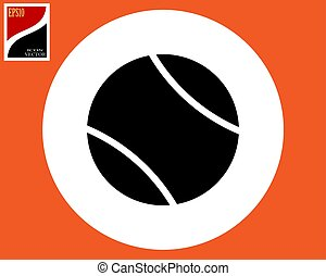 ball icon for in tennis