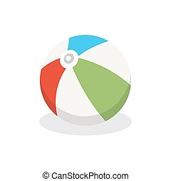 Ball. Icon on isolated background