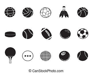 ball icons collection