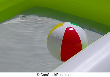 Ball in the water