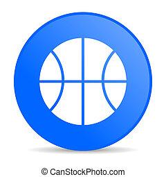 ball internet blue icon