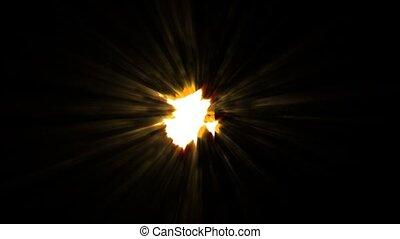 Ball of Intense Light