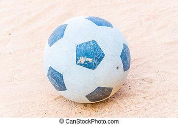 Ball on sand