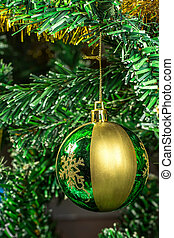 Ball on the Christmas tree