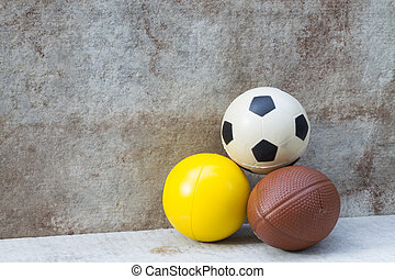 ball on wall background