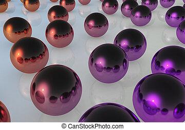 ball reflection color