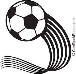 ball), (soccer, fotboll klumpa ihop sig