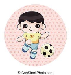 Ball sports theme elements