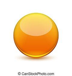 ball., vecteur, lustré