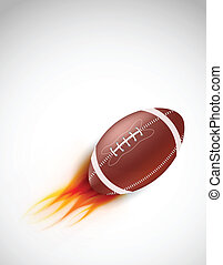Ball with fire