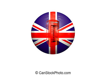 Ball with Union Jack.