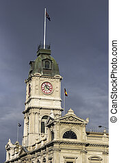 Ballarat historic architecture - clock tower in the...