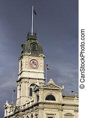 Ballarat historic architecture - clock tower in the...