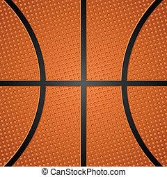 balle, basket-ball, texture