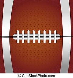balle, fond, texture, football