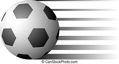 balle, football, illustration