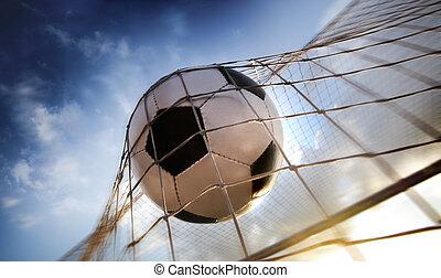balle, football