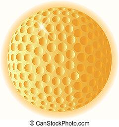 balle, golf, or