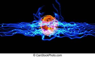 balle, plasma, énergie