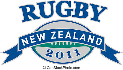 balle rugby, nouvelle zélande, 2011