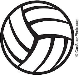balle, volley-ball