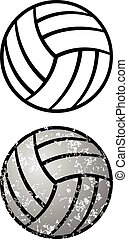 balle, volley-ball