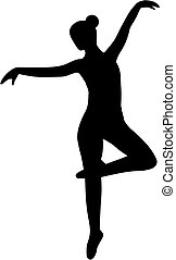 Ballerina Ballet Silhouette